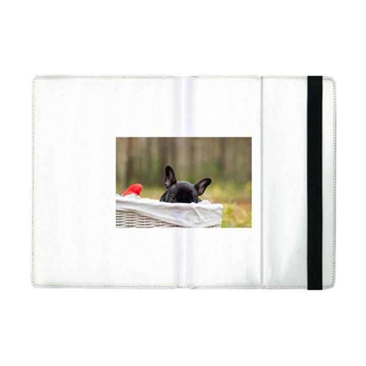French Bulldog Peeking Puppy iPad Mini 2 Flip Cases