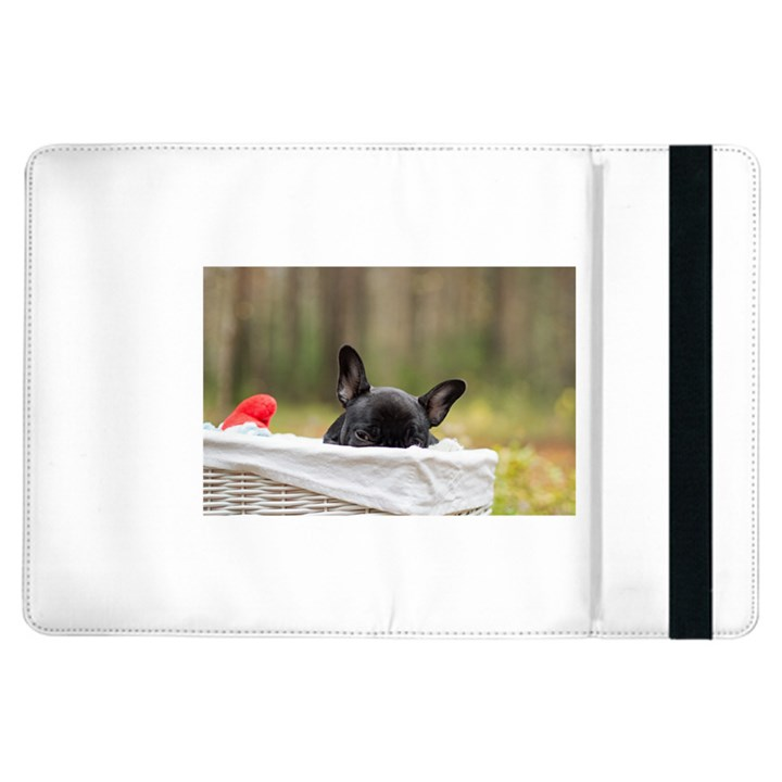 French Bulldog Peeking Puppy iPad Air Flip