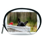 French Bulldog Peeking Puppy Accessory Pouches (Medium)  Front