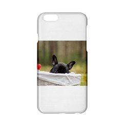 French Bulldog Peeking Puppy Apple iPhone 6/6S Hardshell Case