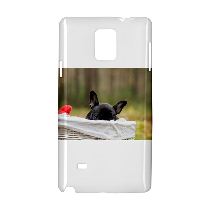 French Bulldog Peeking Puppy Samsung Galaxy Note 4 Hardshell Case