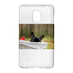 French Bulldog Peeking Puppy Galaxy Note Edge