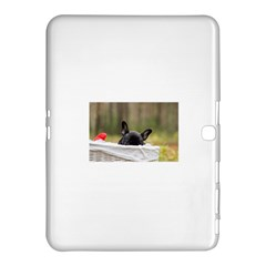 French Bulldog Peeking Puppy Samsung Galaxy Tab 4 (10.1 ) Hardshell Case