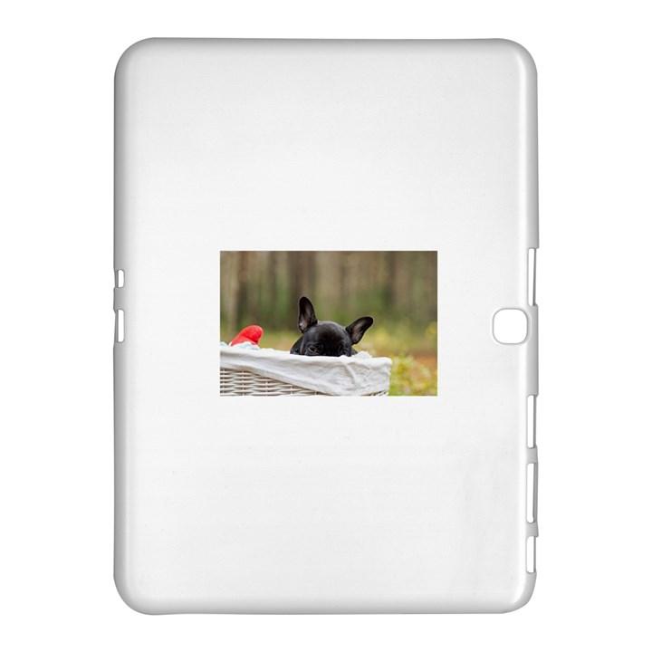 French Bulldog Peeking Puppy Samsung Galaxy Tab 4 (10.1 ) Hardshell Case