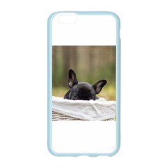 French Bulldog Peeking Puppy Apple Seamless iPhone 6/6S Case (Color)