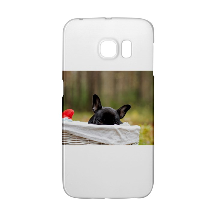 French Bulldog Peeking Puppy Galaxy S6 Edge