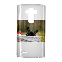 French Bulldog Peeking Puppy LG G4 Hardshell Case