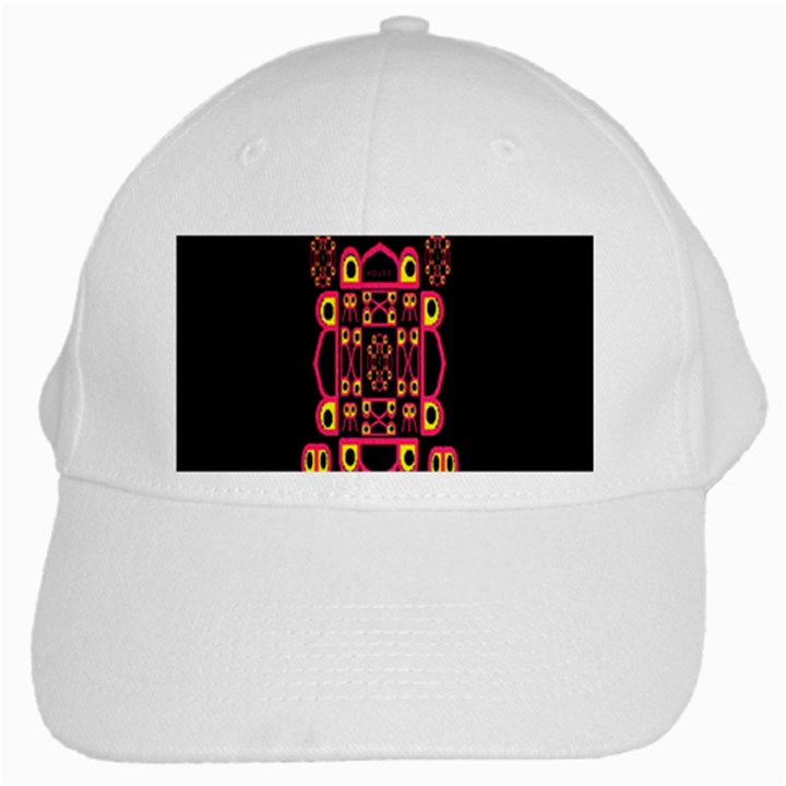Alphabet Shirt White Cap