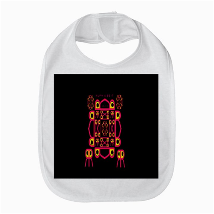 Alphabet Shirt Bib