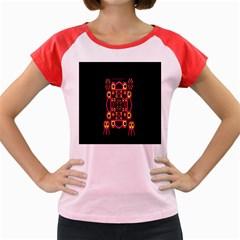 Alphabet Shirt Women s Cap Sleeve T-Shirt