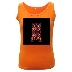 Alphabet Shirt Women s Dark Tank Top