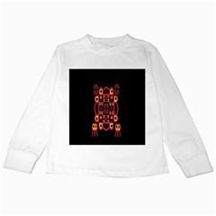 Alphabet Shirt Kids Long Sleeve T-Shirts