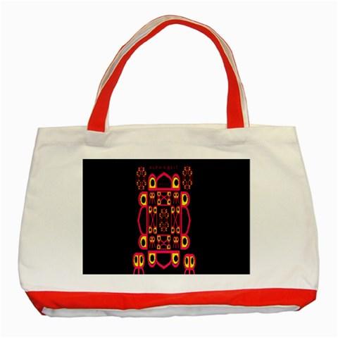 Alphabet Shirt Classic Tote Bag (Red)