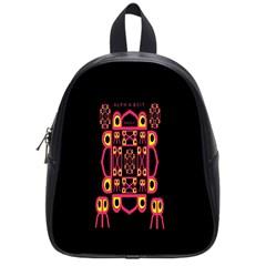 Alphabet Shirt School Bags (small)