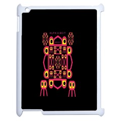 Alphabet Shirt Apple Ipad 2 Case (white)