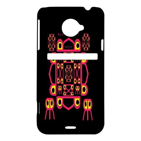 Alphabet Shirt HTC Evo 4G LTE Hardshell Case