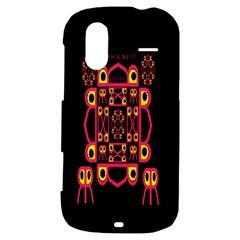 Alphabet Shirt HTC Amaze 4G Hardshell Case