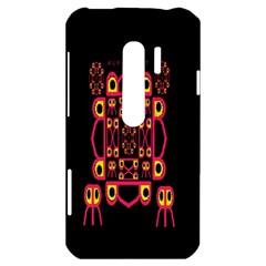 Alphabet Shirt HTC Evo 3D Hardshell Case