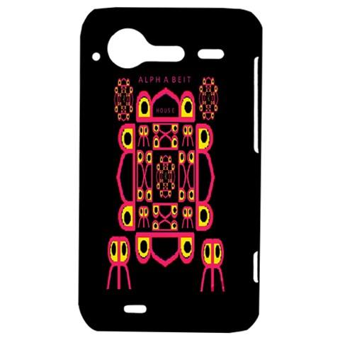 Alphabet Shirt HTC Incredible S Hardshell Case