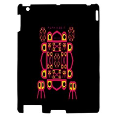 Alphabet Shirt Apple iPad 2 Hardshell Case