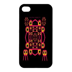 Alphabet Shirt Apple Iphone 4/4s Premium Hardshell Case