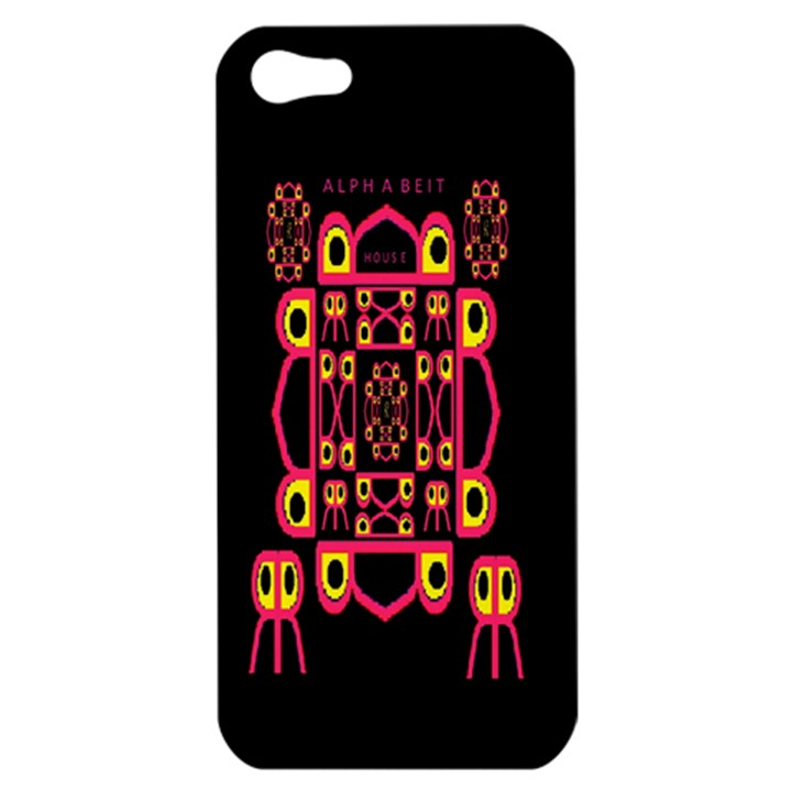 Alphabet Shirt Apple iPhone 5 Hardshell Case