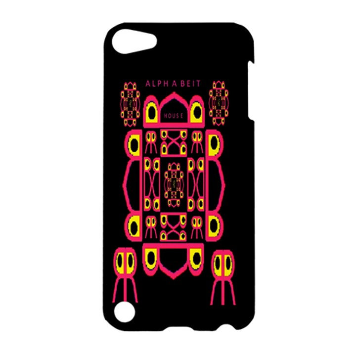 Alphabet Shirt Apple iPod Touch 5 Hardshell Case