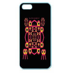 Alphabet Shirt Apple Seamless iPhone 5 Case (Color)
