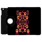 Alphabet Shirt Apple iPad Mini Flip 360 Case Front