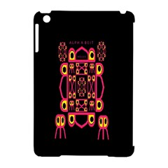 Alphabet Shirt Apple iPad Mini Hardshell Case (Compatible with Smart Cover)