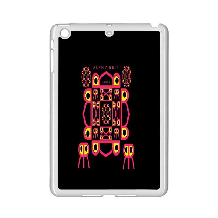 Alphabet Shirt iPad Mini 2 Enamel Coated Cases