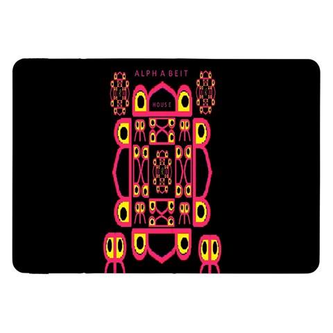 Alphabet Shirt Samsung Galaxy Tab 8.9  P7300 Flip Case