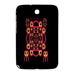 Alphabet Shirt Samsung Galaxy Note 8 0 N5100 Hardshell Case