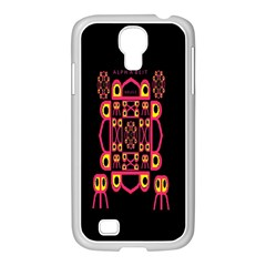 Alphabet Shirt Samsung Galaxy S4 I9500/ I9505 Case (white)