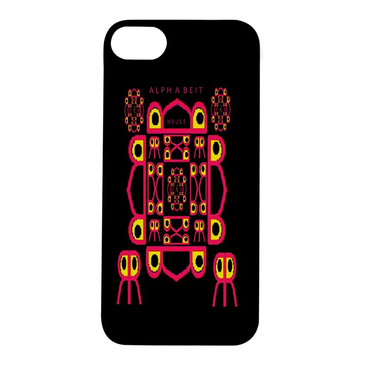 Alphabet Shirt Apple iPhone 5S/ SE Hardshell Case