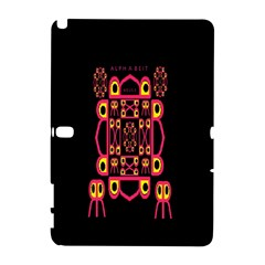Alphabet Shirt Samsung Galaxy Note 10.1 (P600) Hardshell Case