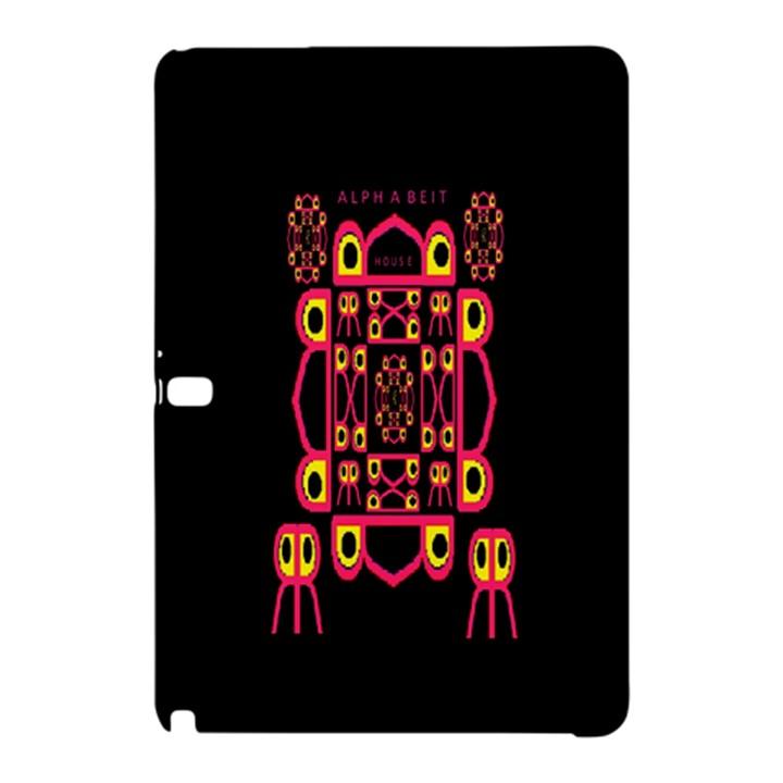 Alphabet Shirt Samsung Galaxy Tab Pro 12.2 Hardshell Case