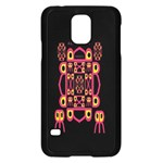 Alphabet Shirt Samsung Galaxy S5 Case (Black) Front