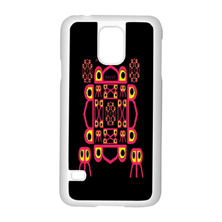 Alphabet Shirt Samsung Galaxy S5 Case (White)