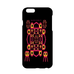 Alphabet Shirt Apple Iphone 6/6s Hardshell Case