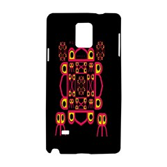 Alphabet Shirt Samsung Galaxy Note 4 Hardshell Case