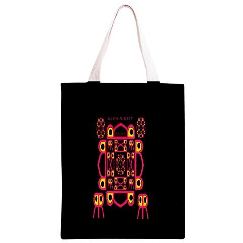 Alphabet Shirt Classic Light Tote Bag
