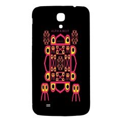 Alphabet Shirt Samsung Galaxy Mega I9200 Hardshell Back Case