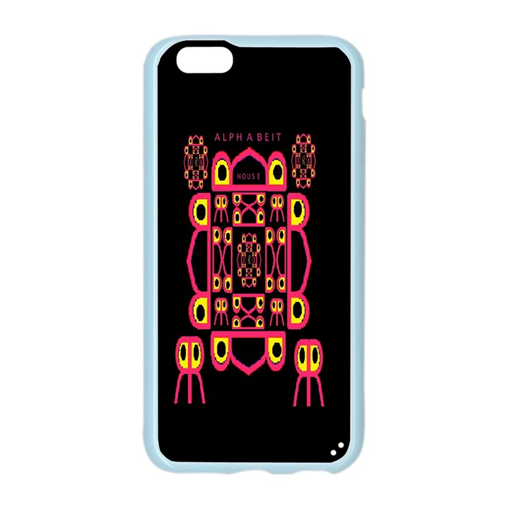 Alphabet Shirt Apple Seamless iPhone 6/6S Case (Color)