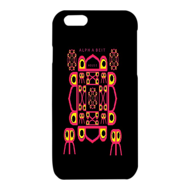 Alphabet Shirt iPhone 6/6S TPU Case