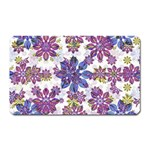 Stylized Floral Ornate Pattern Magnet (Rectangular) Front