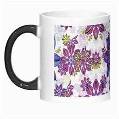 Stylized Floral Ornate Pattern Morph Mugs