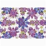 Stylized Floral Ornate Pattern Collage Prints 18 x12 Print - 2