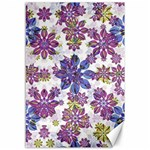 Stylized Floral Ornate Pattern Canvas 12  x 18   18 x12 Canvas - 1