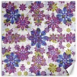 Stylized Floral Ornate Pattern Canvas 16  x 16   16 x16 Canvas - 1